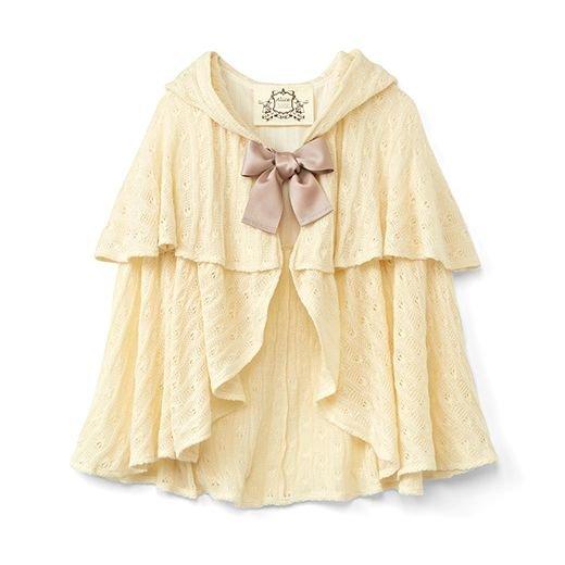 ナイティドレス用 白ずきんちゃんケープ