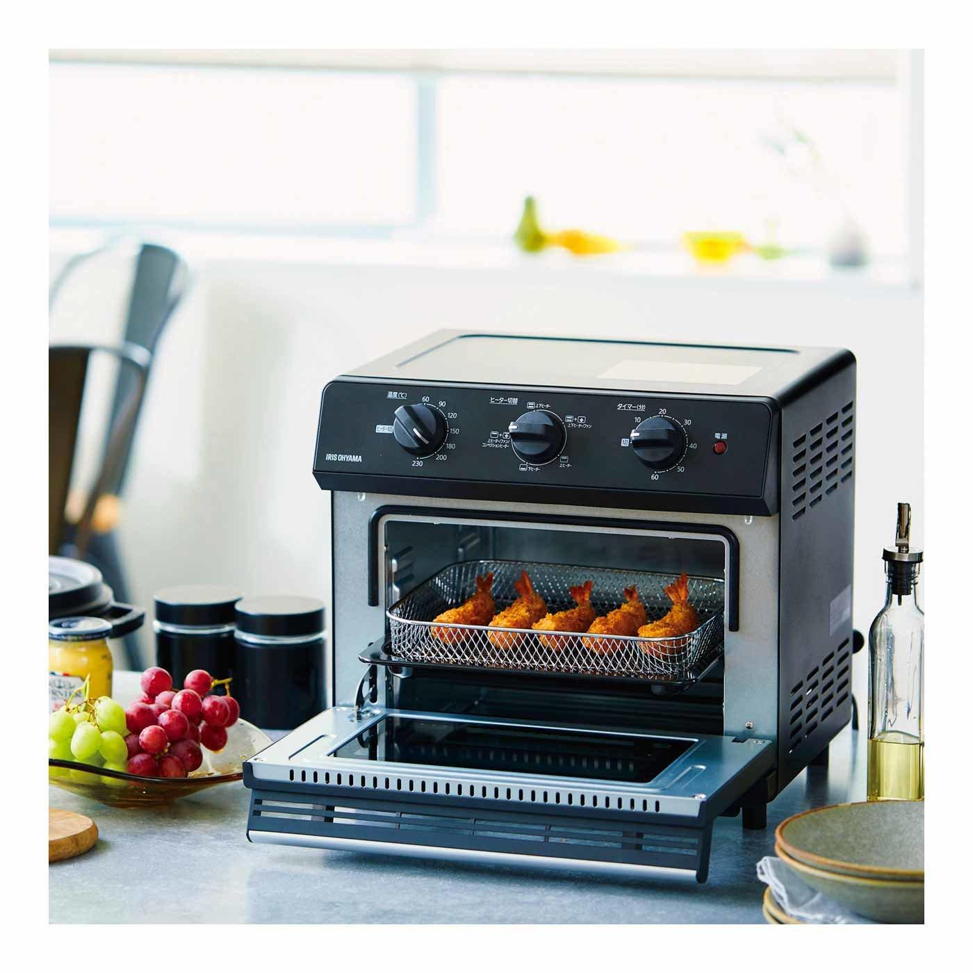 なるほど健康生活! ノンフライ熱風オーブン