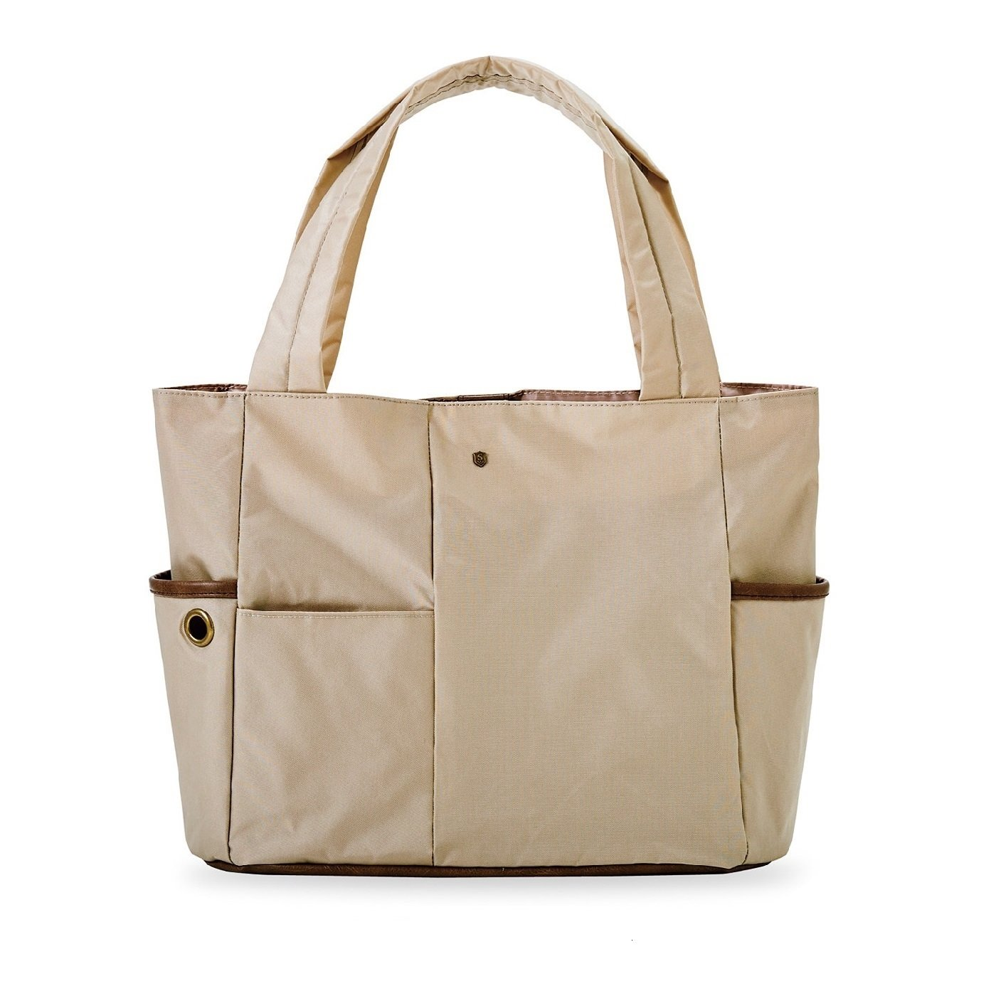 エッセイスト・整理収納アドバイザー 柳沢小実さんと作った お弁当派さんにうれしい 大容量の保冷ポケット付き整理整とん軽量トートバッグ