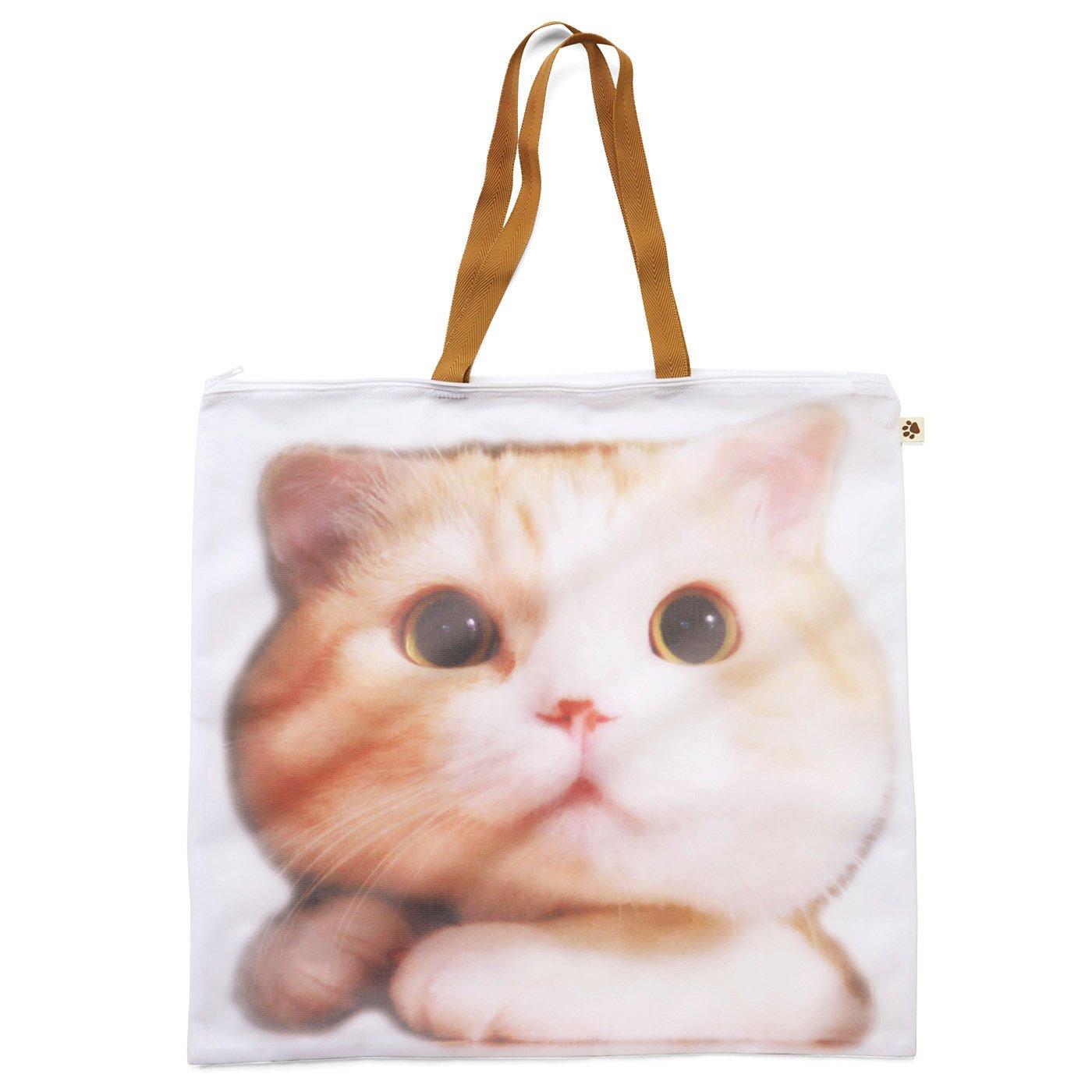 猫部オリジナル洗濯用ポーチ〈特大〉