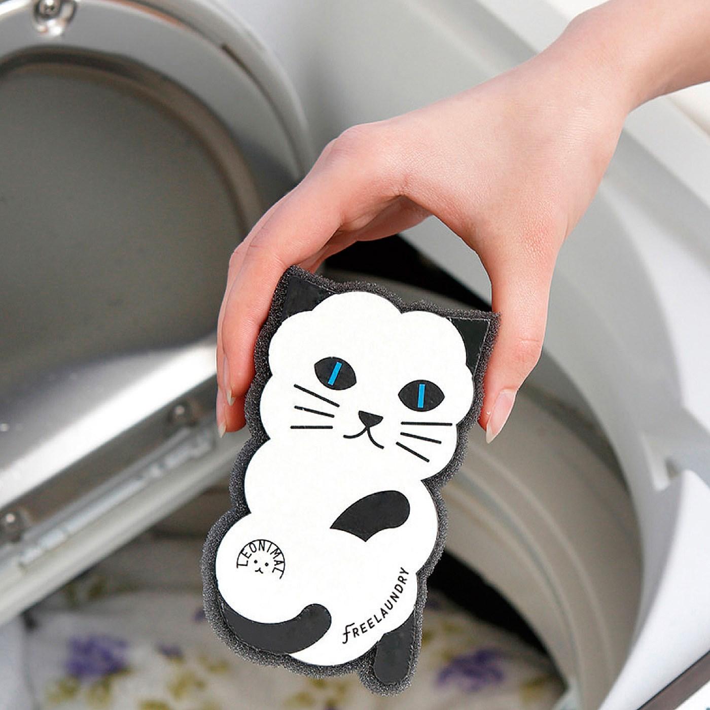 洗濯機に入れて洗うだけ!