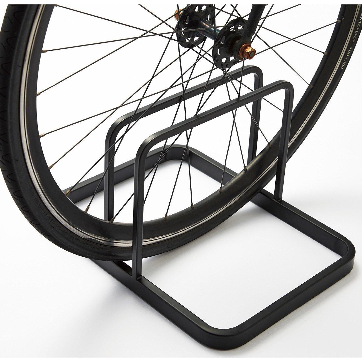 スチール自転車スタンド〈ブラック〉