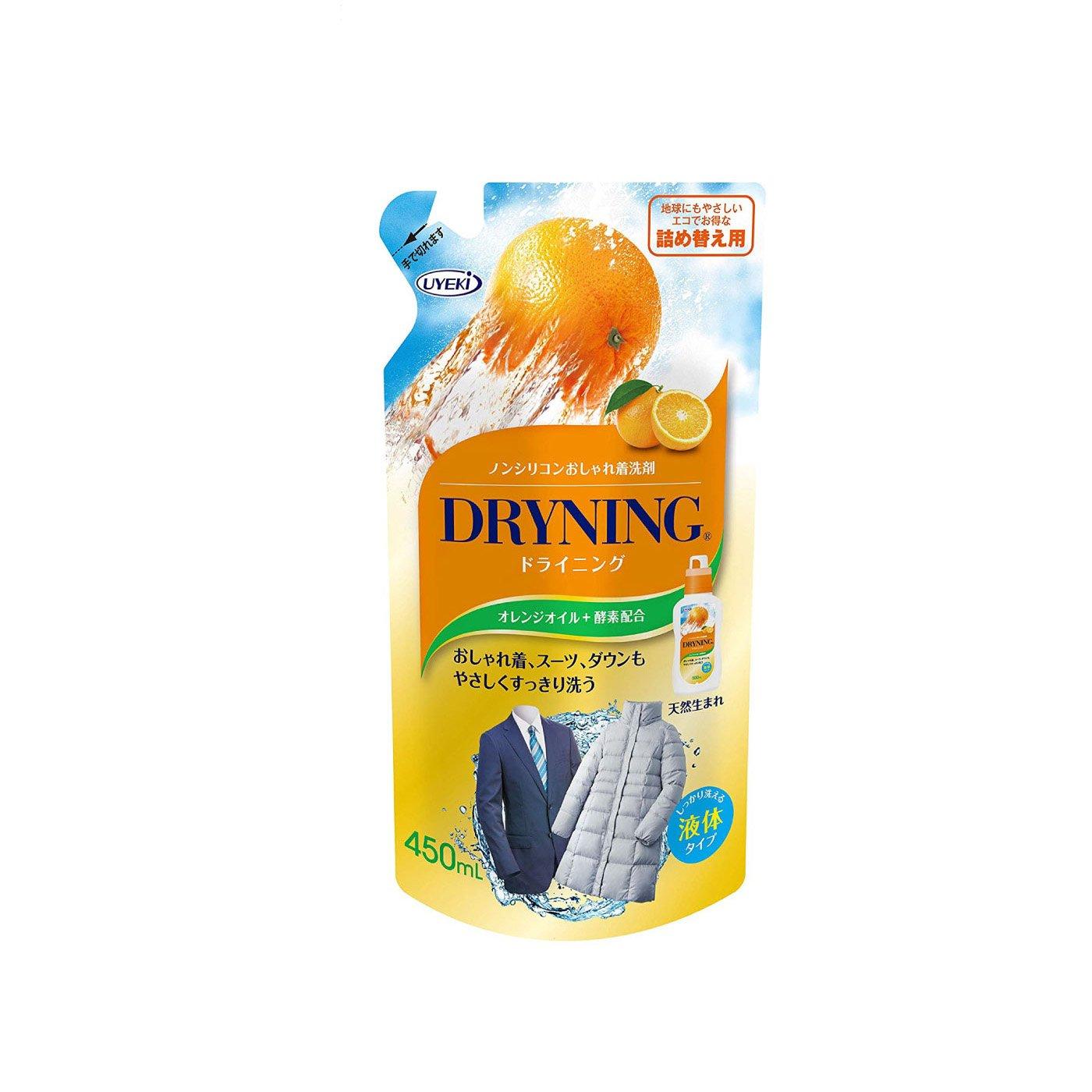 オレンジパワーで汚れを落とす ドライニング 液体タイプ詰め替え用の会