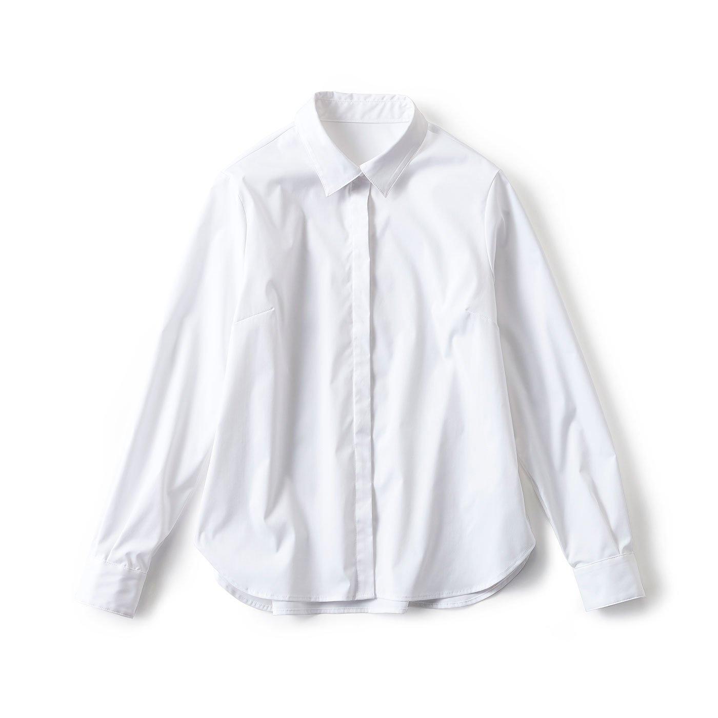 LX 大人女性の今が輝く 理想の白シャツ
