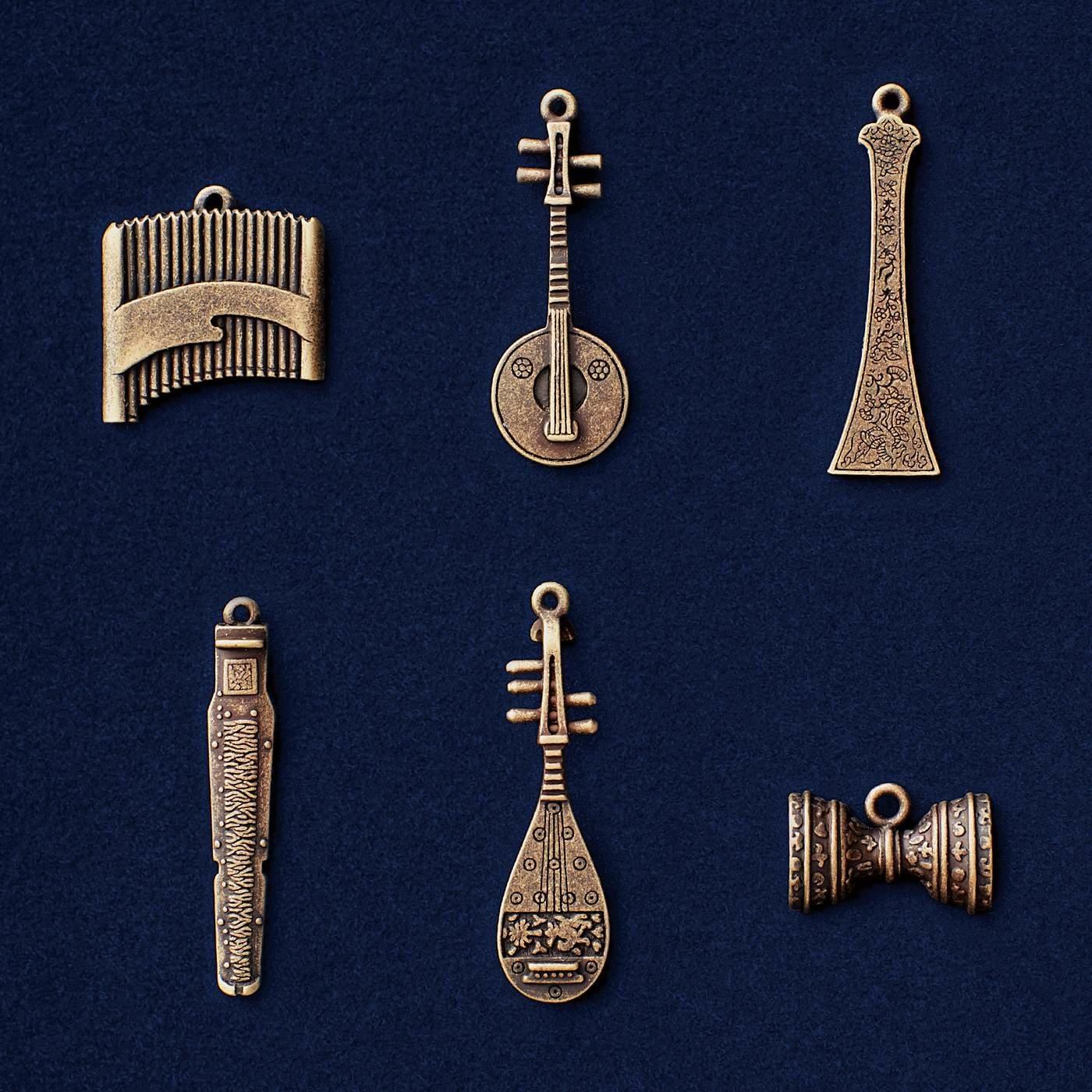 模造 正倉院楽器 アクセサリーチャームコレクションの会