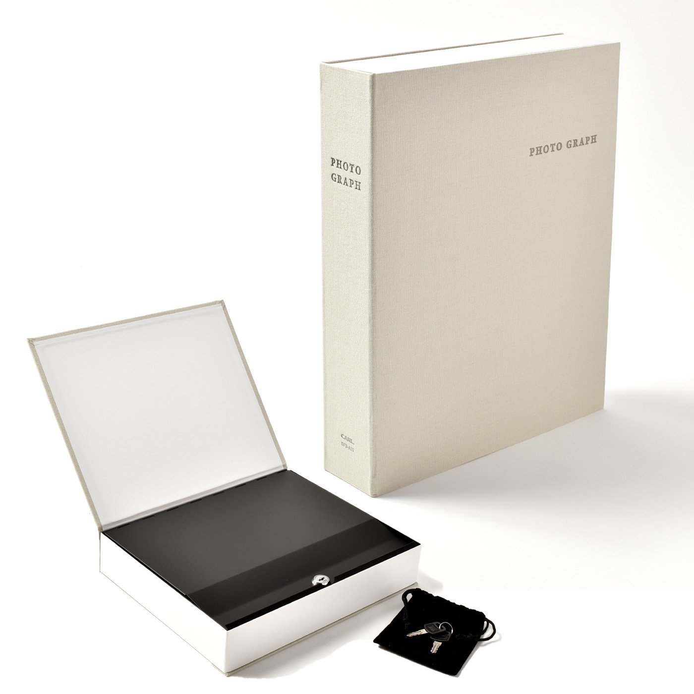 【数量限定SALE】貴重品は本棚に! セーフティBOXアルバムシック
