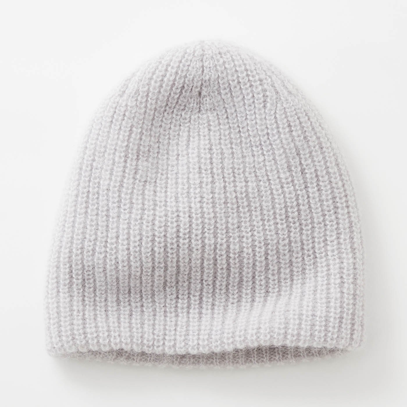 odds モヘアニット帽〈ライトグレー〉
