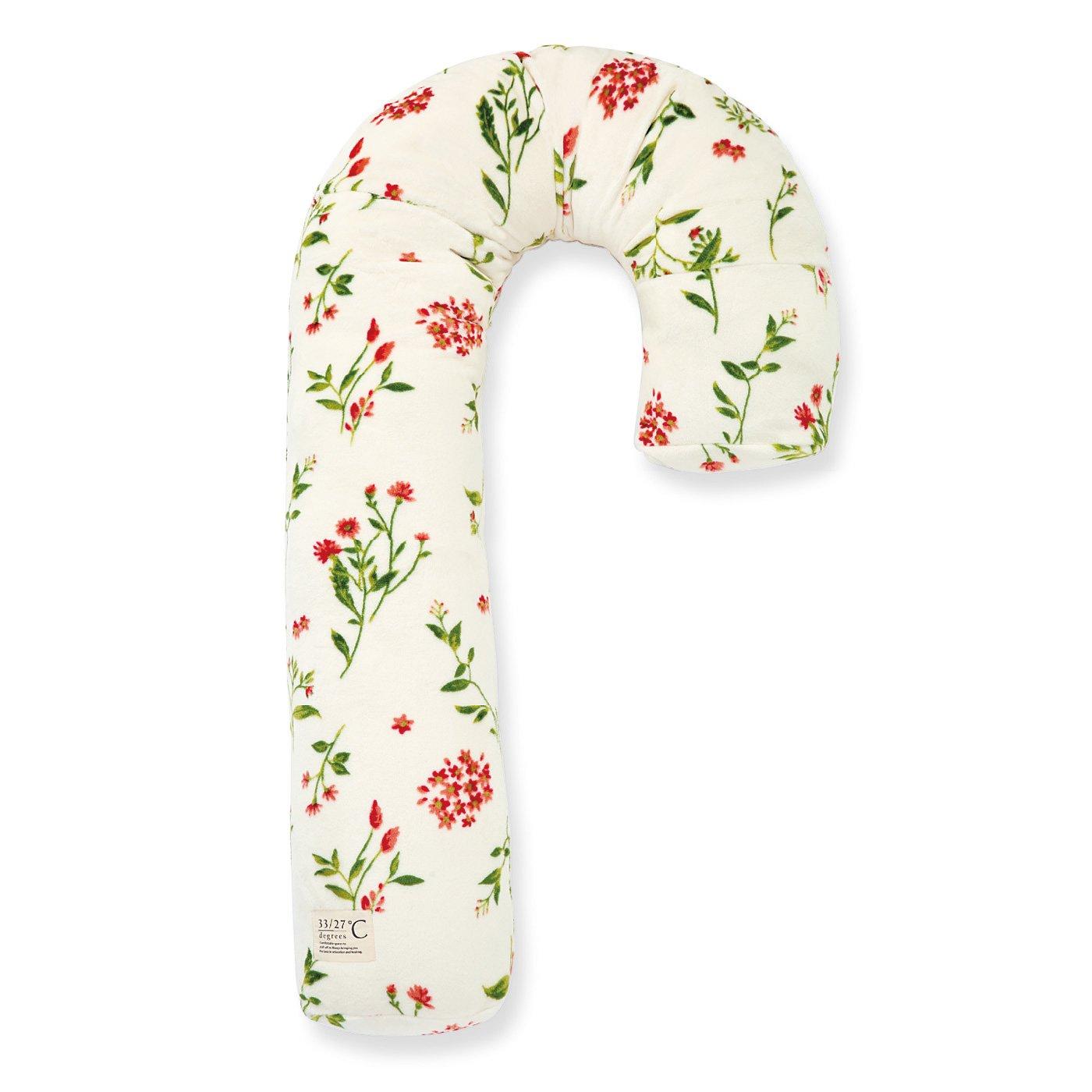 オフシーズン寝具は有効活用! 横向き寝姿がさらにらくちん あったかファーの抱き枕カバー