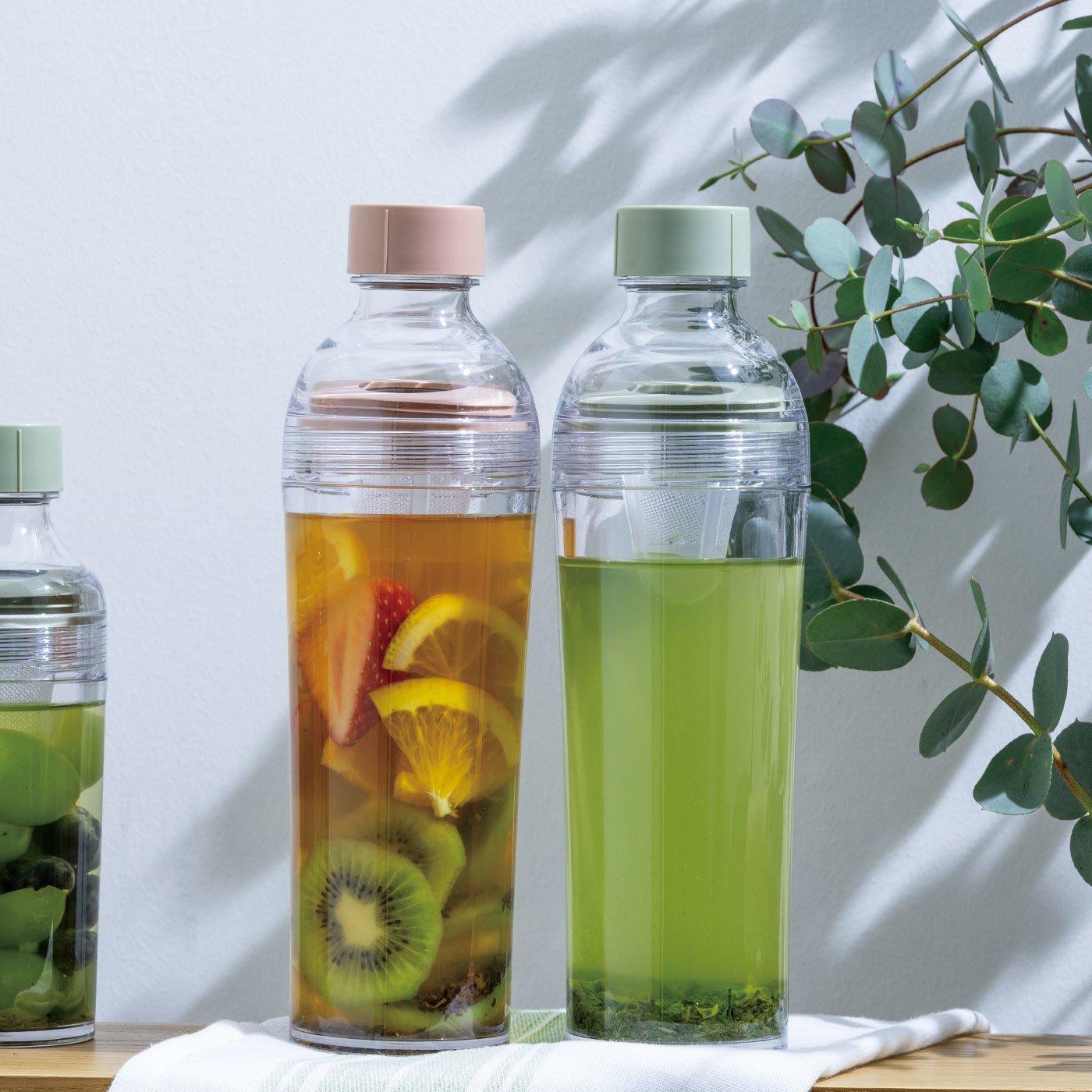 茶こし付き携帯ボトル HARIO フィルターインボトル・ポータブル