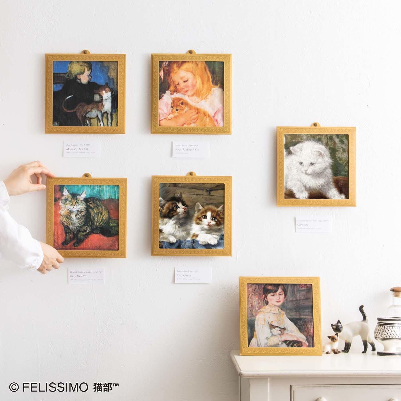 猫部×ミュージアム部 アートハンカチコレクション〈猫〉