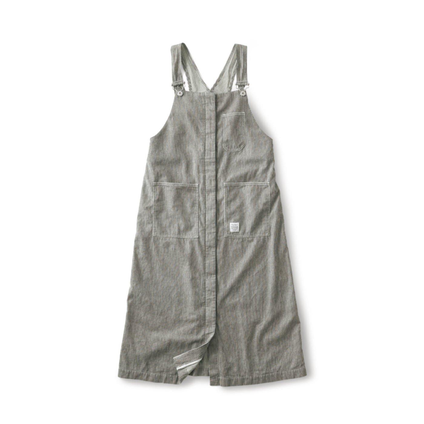 サニークラウズ  ヒッコリージャンパースカート〈レディース〉