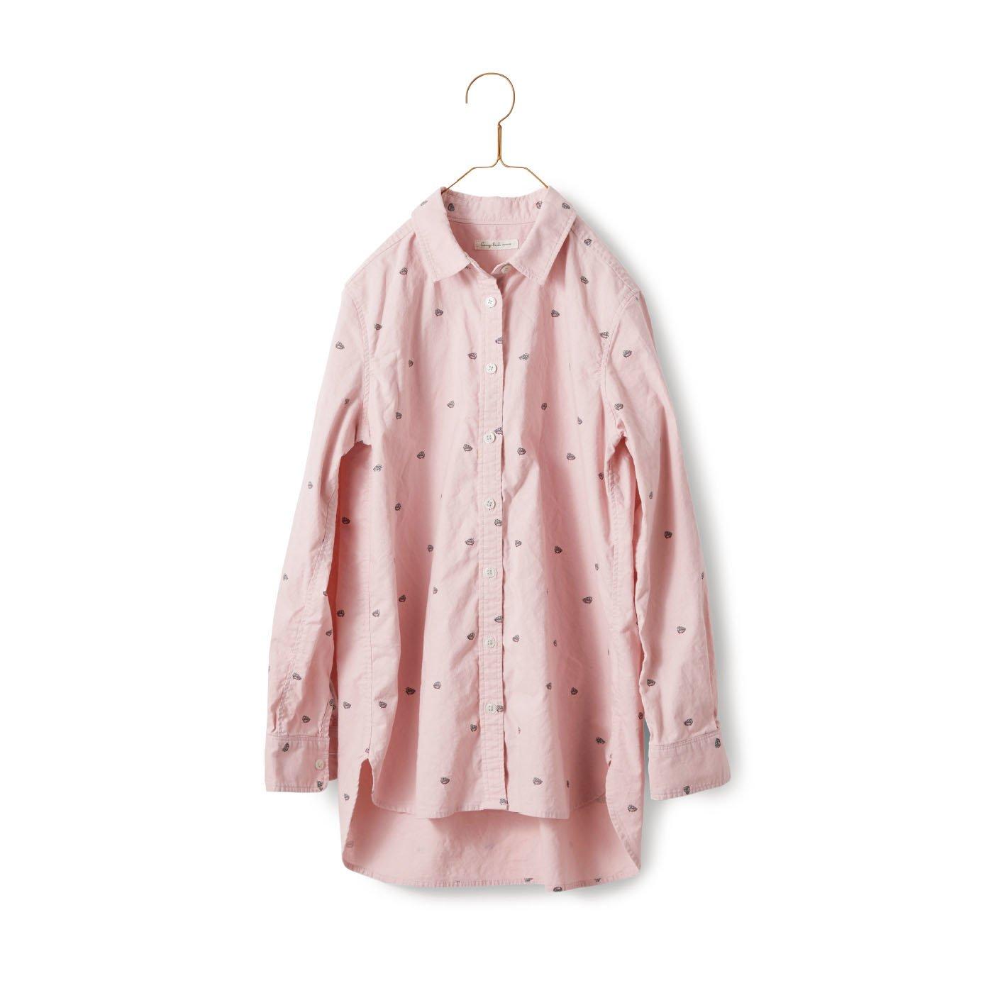 サニークラウズ  桜餅シャツ〈レディース〉