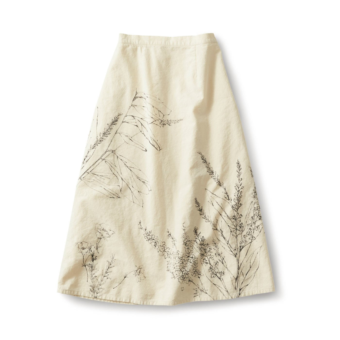 サニークラウズ  スケッチブックなスカート〈レディース〉