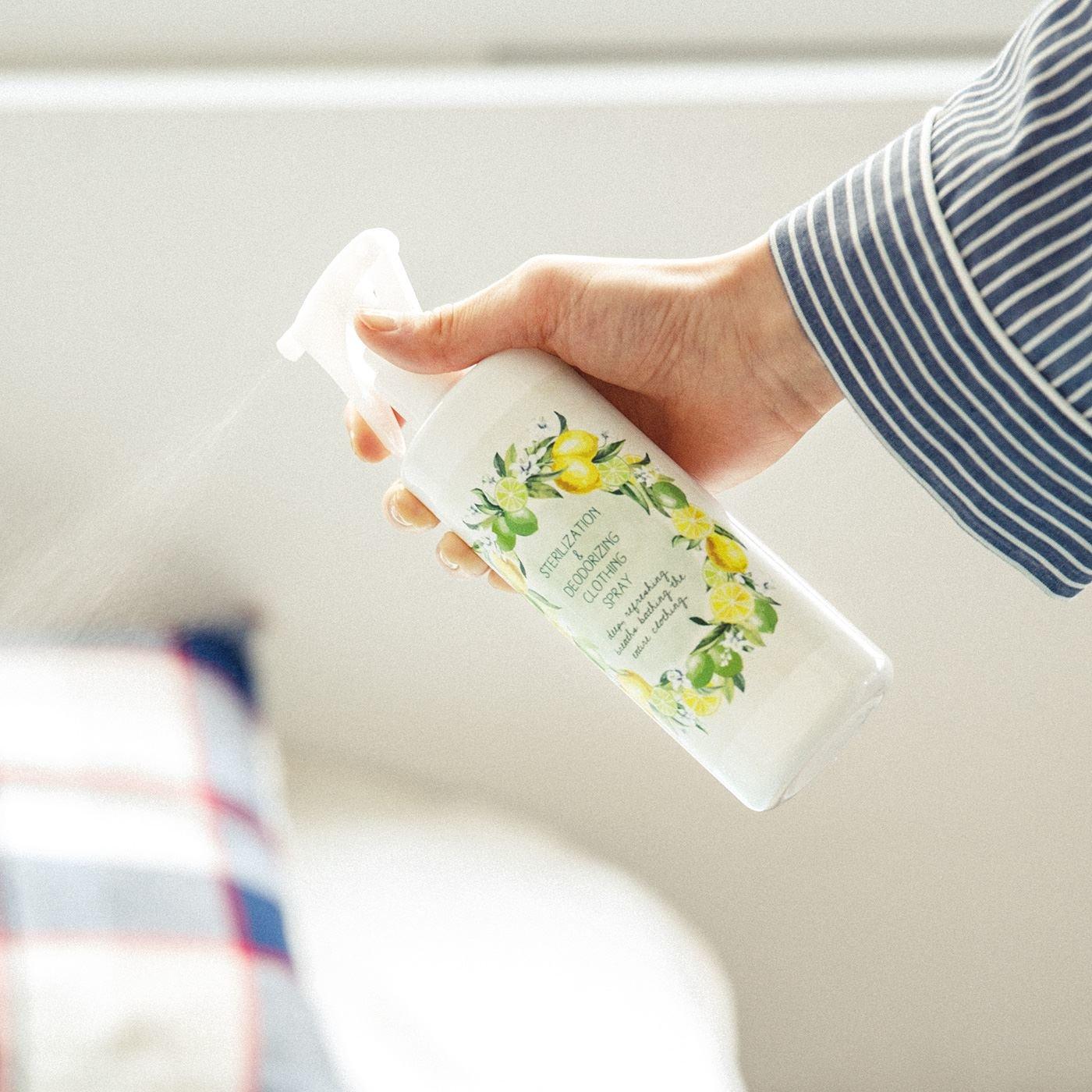 レモンとライムの精油が香る 自然派志向 植物由来の除菌消臭ウォーターの会