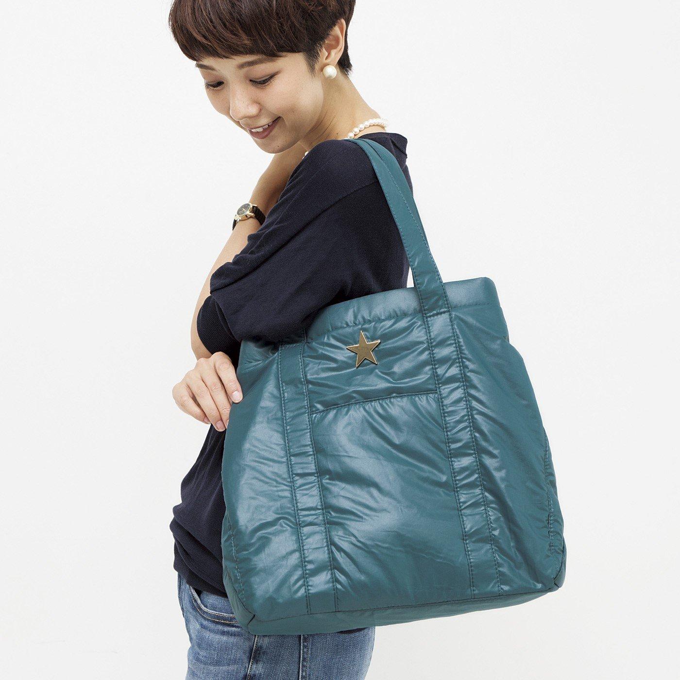 エトワールに恋する ふんわり軽量キルティングバッグ