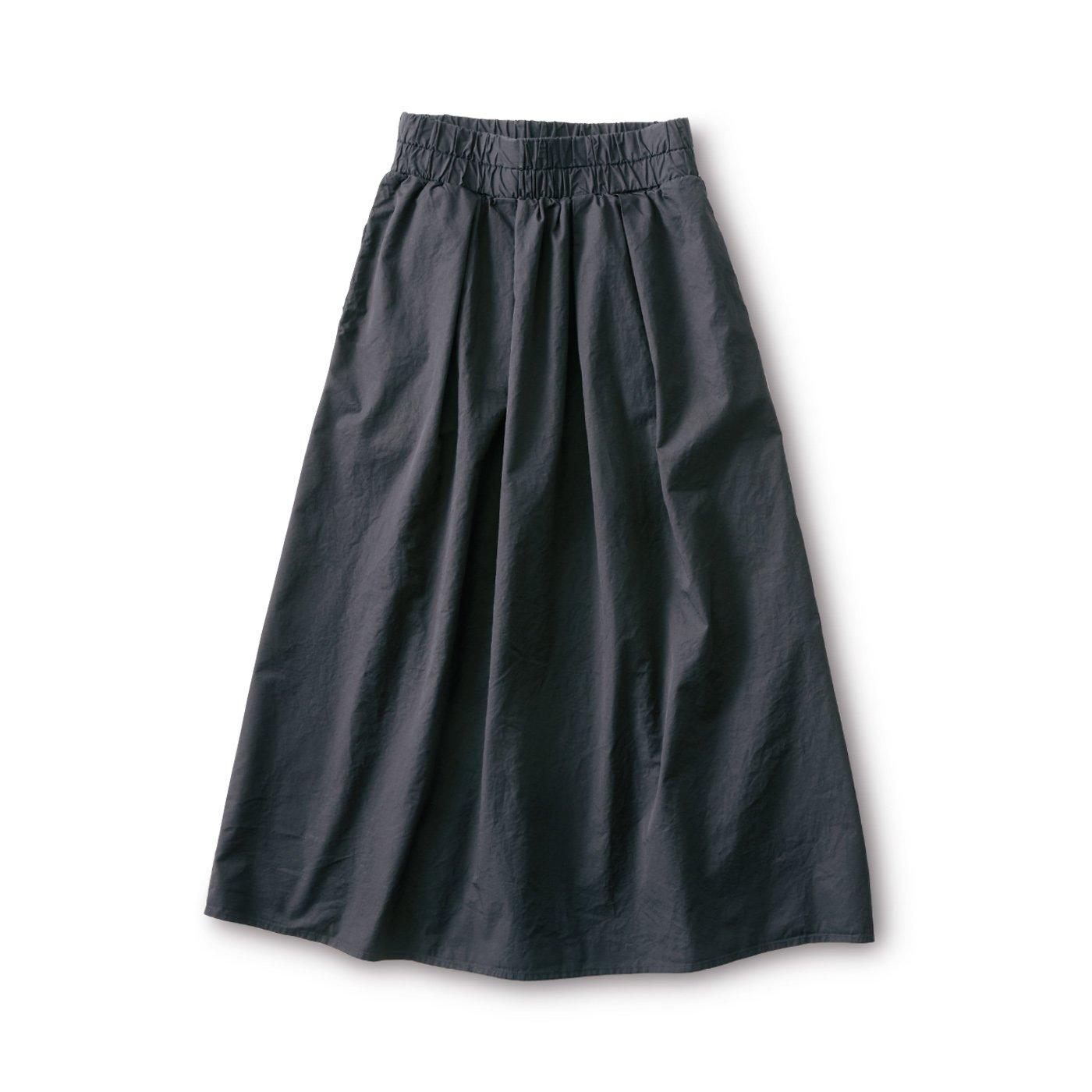 and myera タイプライタースカート〈黒〉