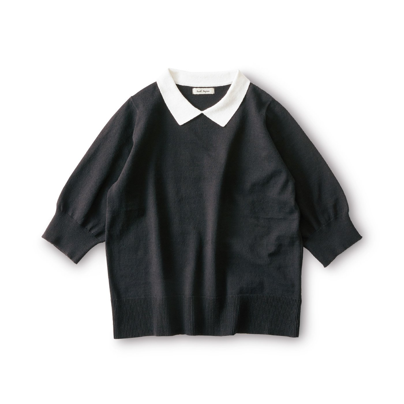 and myera ニットポロシャツ