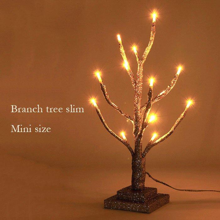 枝の向きを変えられる LEDブランチツリー