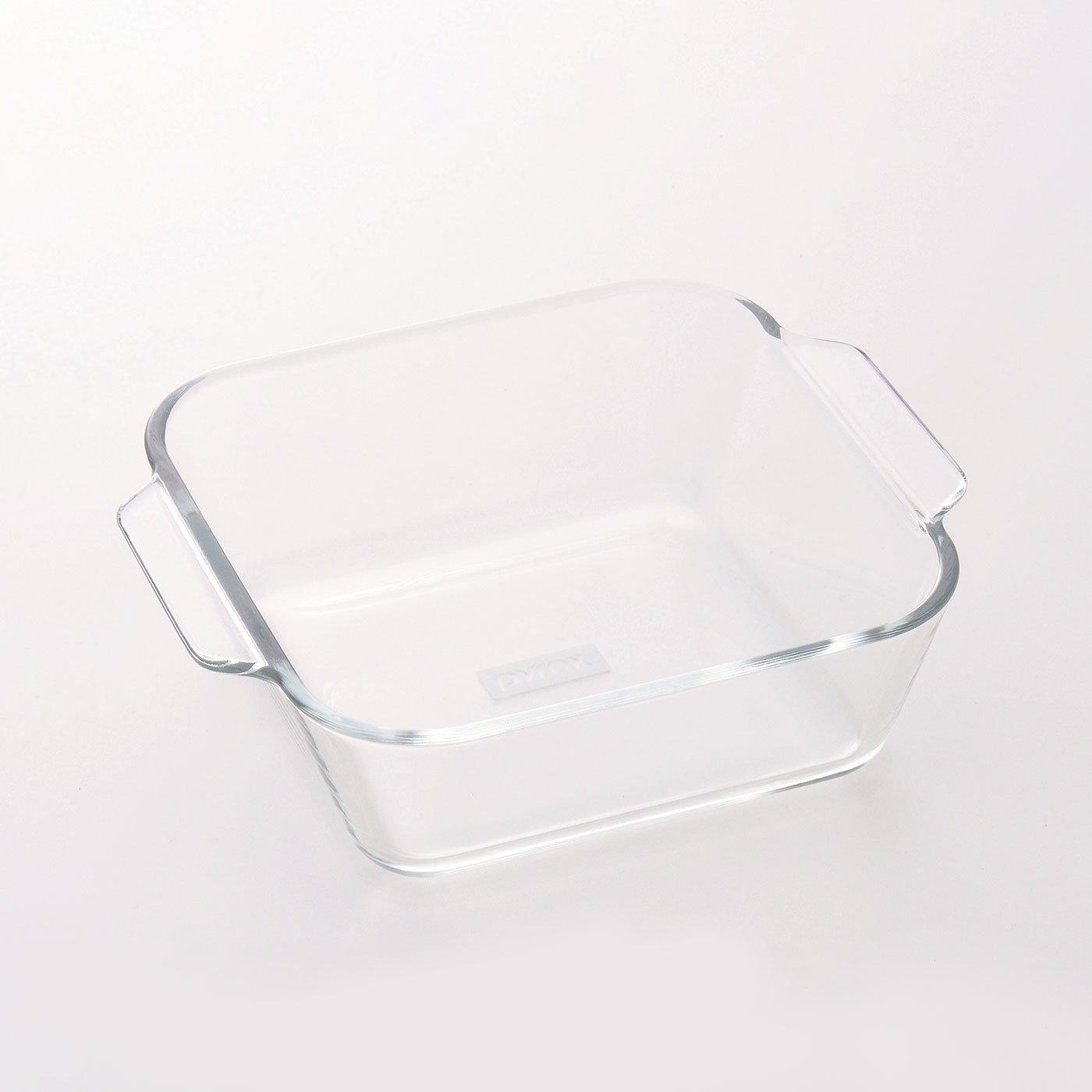 調理にも食器にも使える 耐熱ガラスのグラタン皿 PYREX〈600ml〉