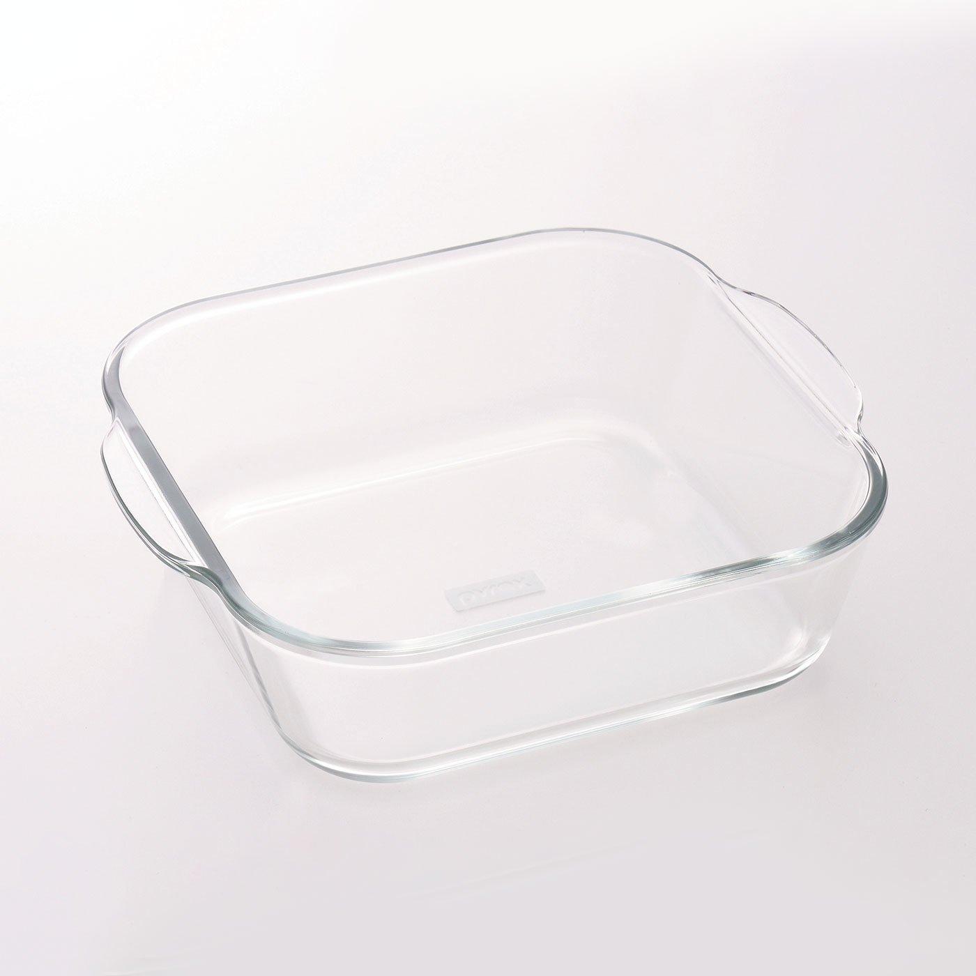 調理にも食器にも使える 耐熱ガラスのグラタン皿 PYREX〈1.2L〉