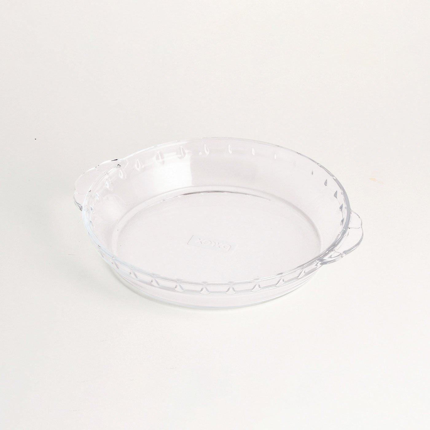 冷凍・レトルト食品のアレンジ幅広がる 耐熱ガラス皿 PYREX〈18cm〉