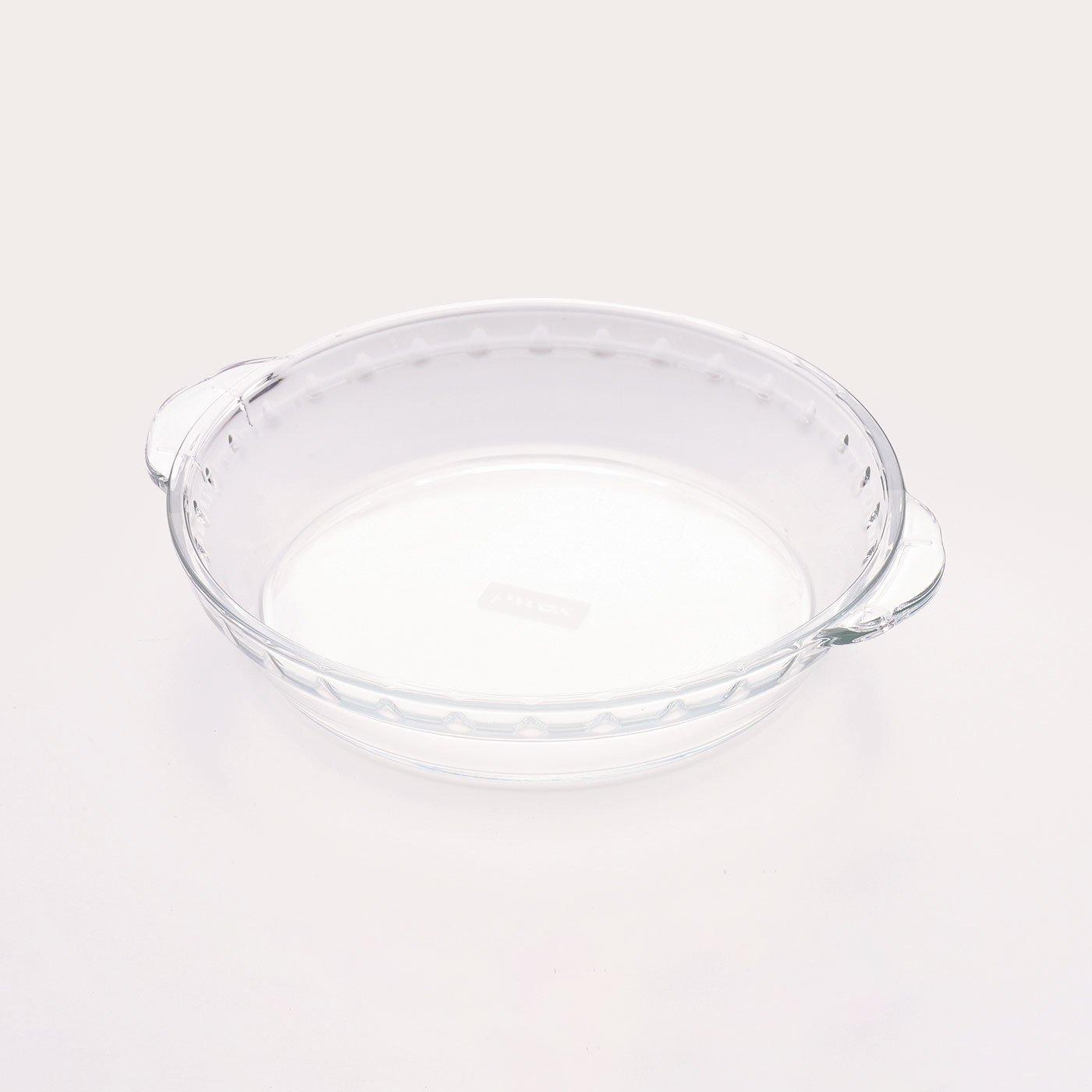 冷凍・レトルト食品のアレンジ幅広がる 耐熱ガラス皿 PYREX〈20cm〉