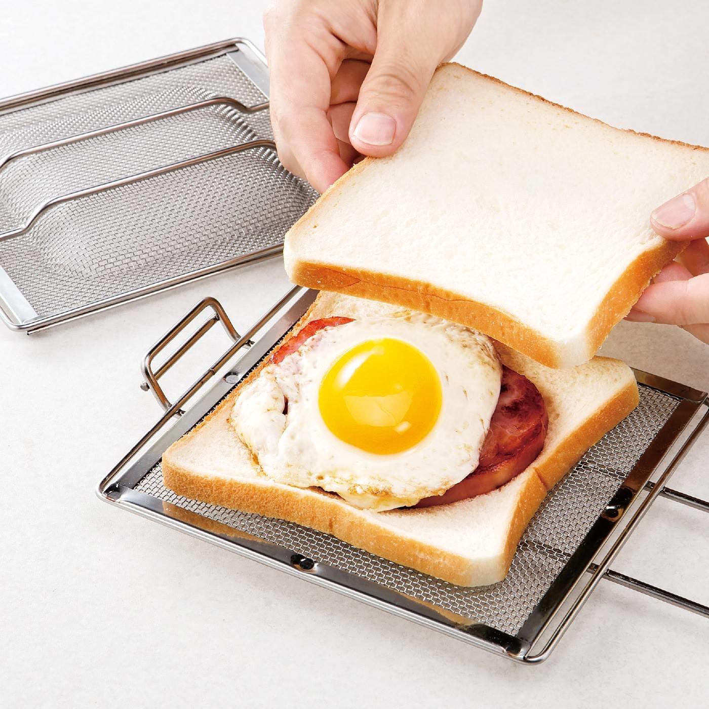 オーブントースターもグリルでも! 手軽に楽しめるホットサンドメーカー
