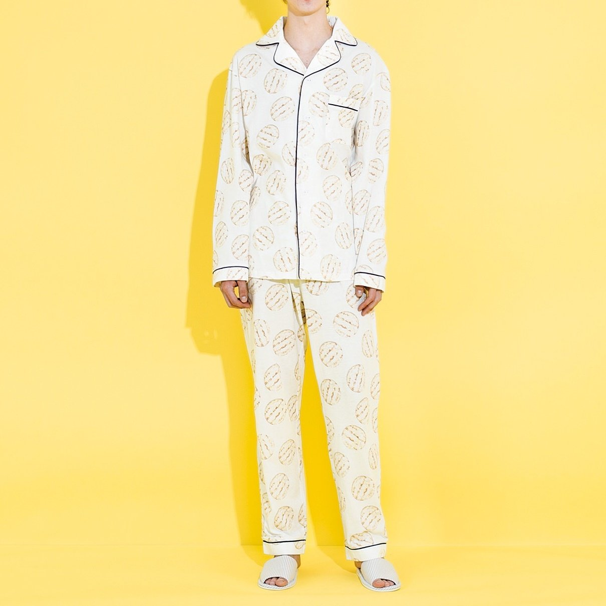 YOU+MORE! 雪の宿パジャマ〈メンズ〉