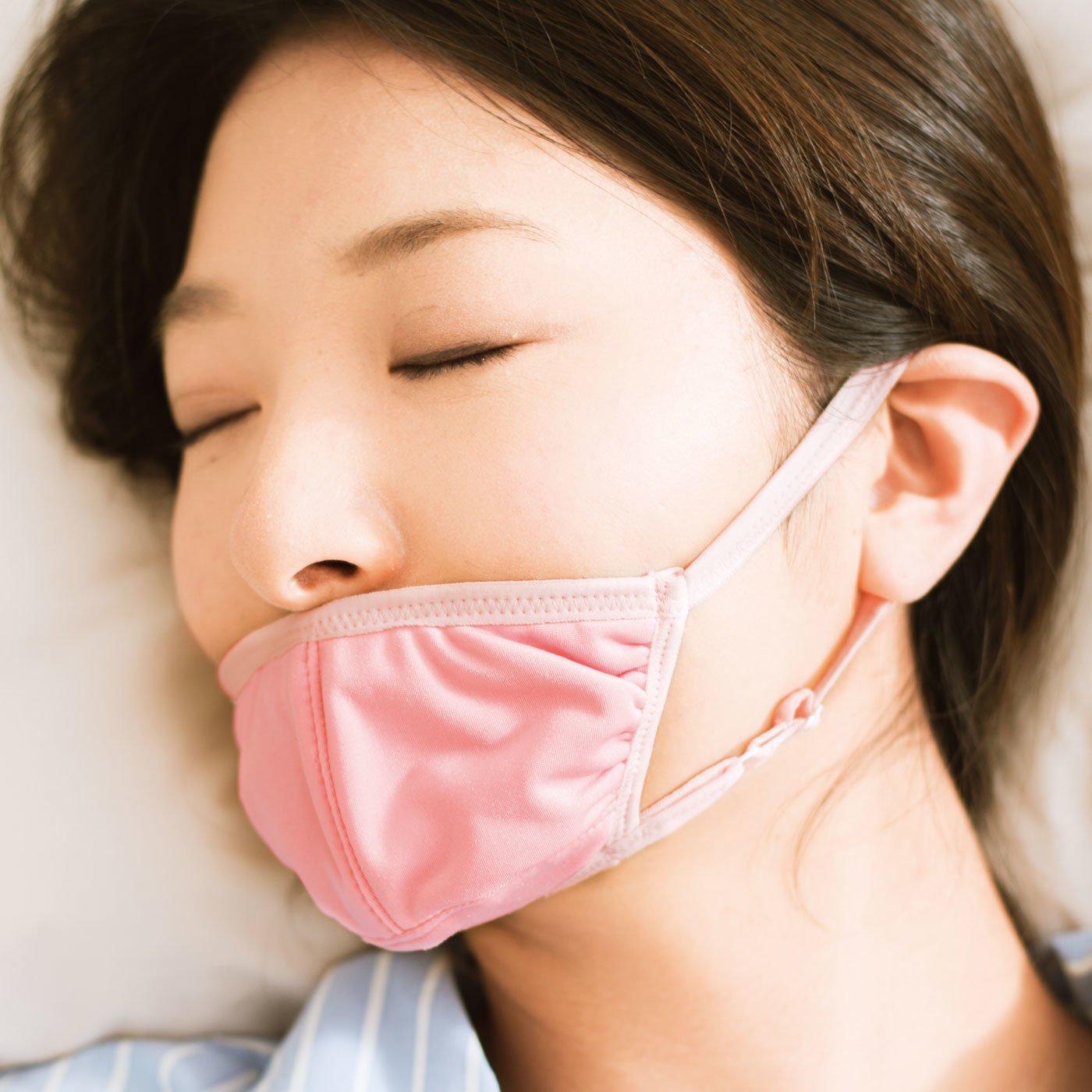 嫌われ者の口呼吸! 快眠サポート美呼吸マスクの会