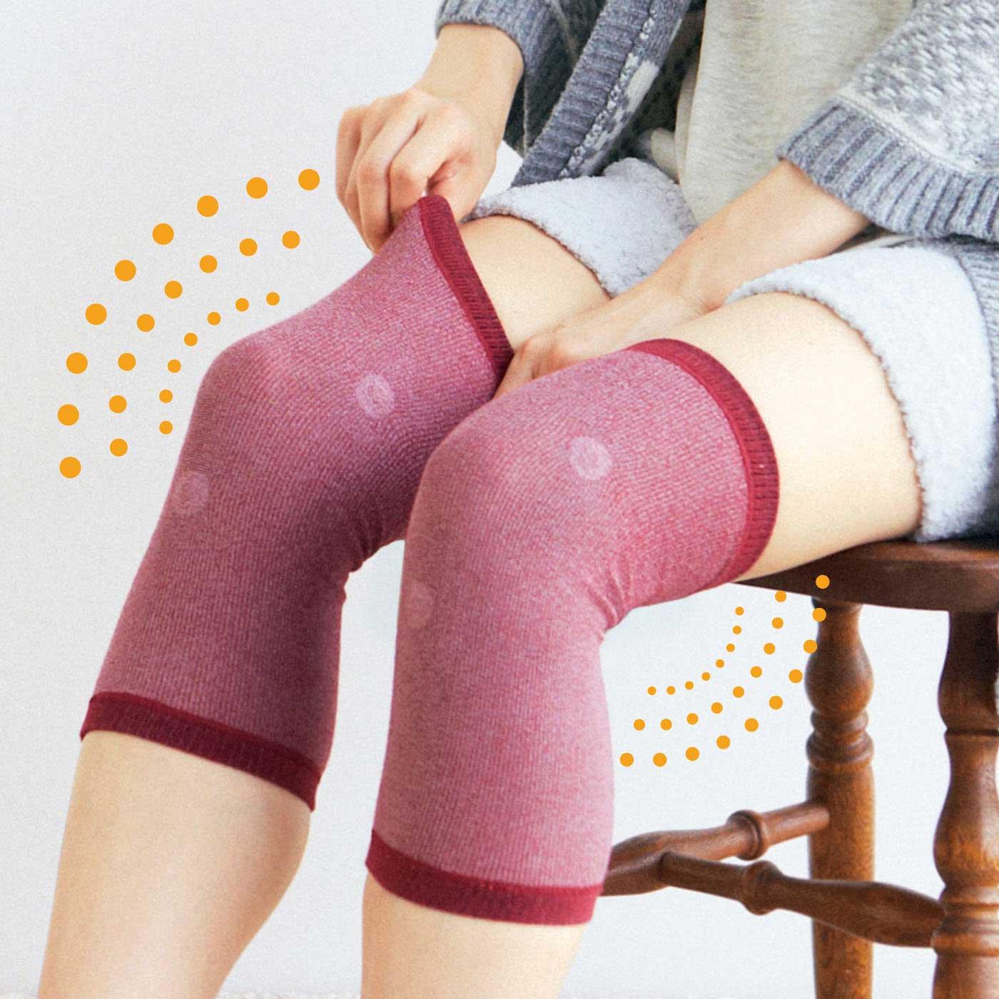 「気になるひざの血行改善! 磁気レッグサポーターの会(CN-476-579)」と合わせ使いがおすすめです。