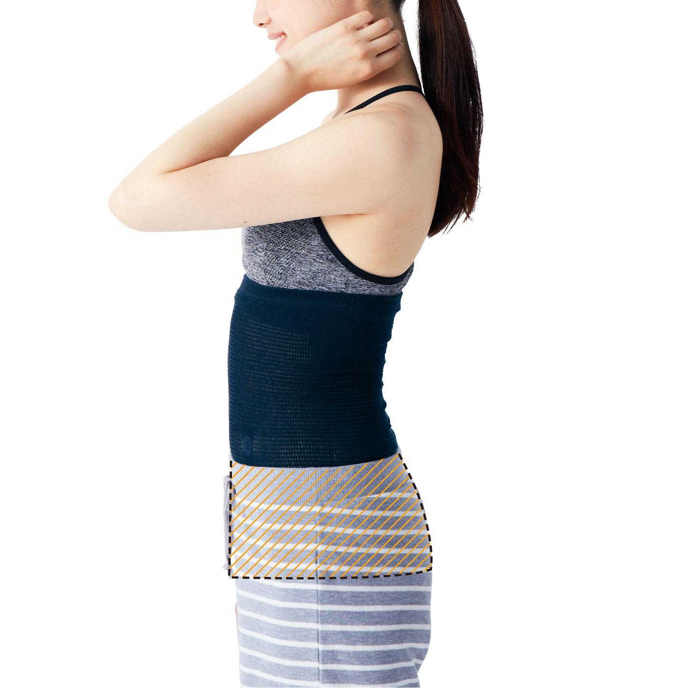 「ガチガチ腰の血行改善! 磁気腹巻きの会(CN-476-809)」と合わせ使いがおすすめです。