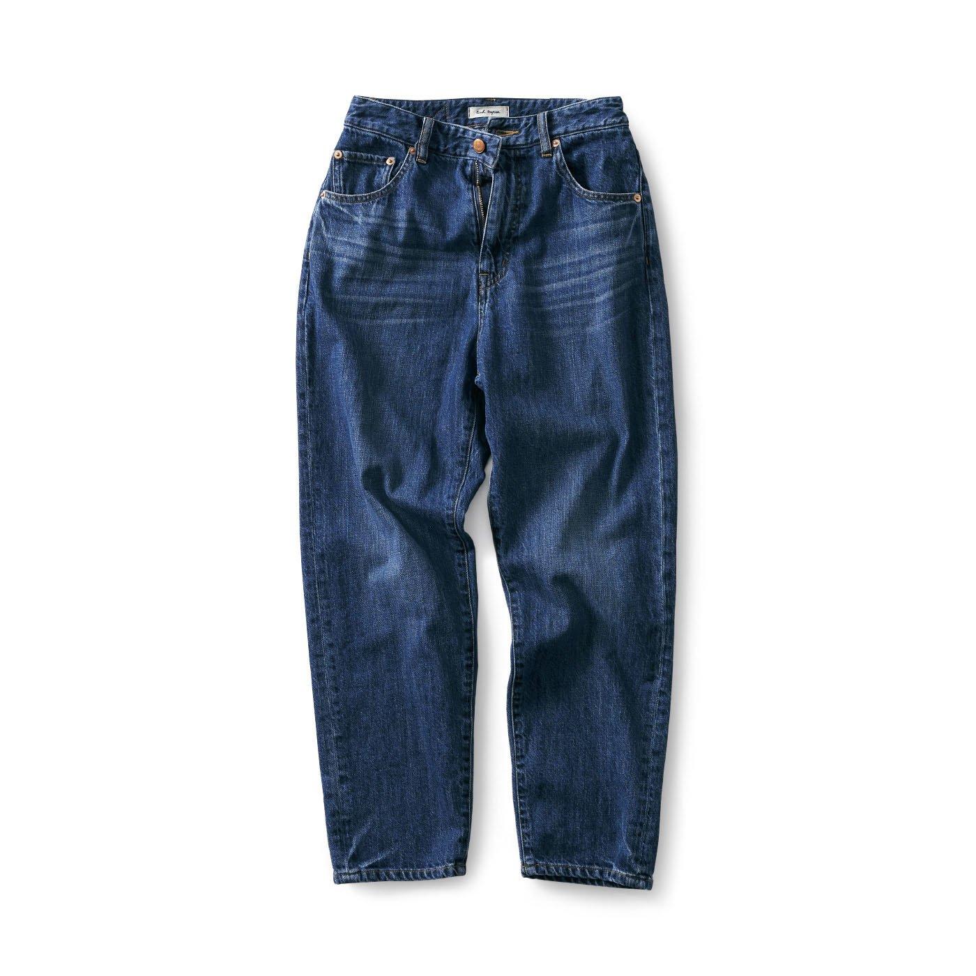 and myera 甘織りジーンズ