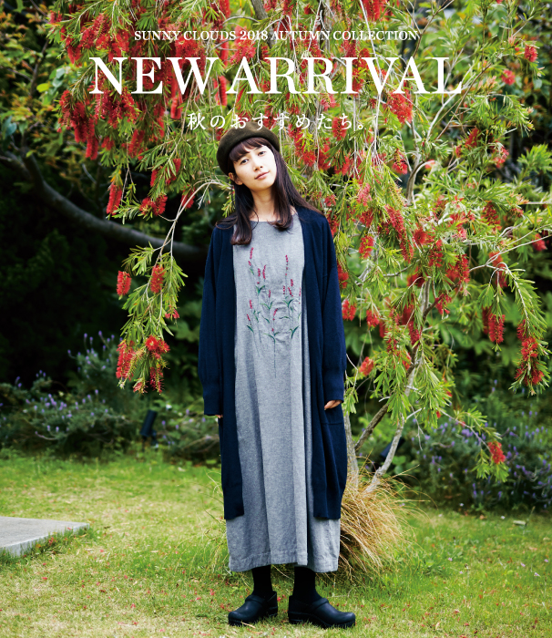 NEW ARRIVAL 2018 Autumn|Sunny clouds