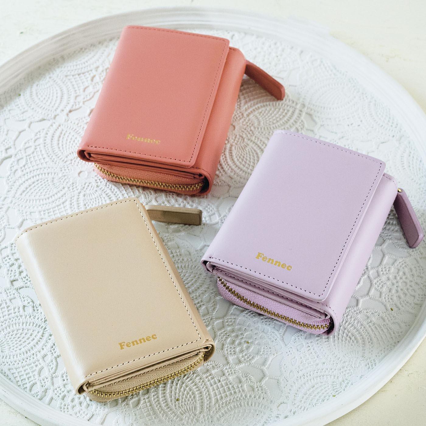 UP.de 使うほどになじむ 手のひらサイズの本革ミニ財布
