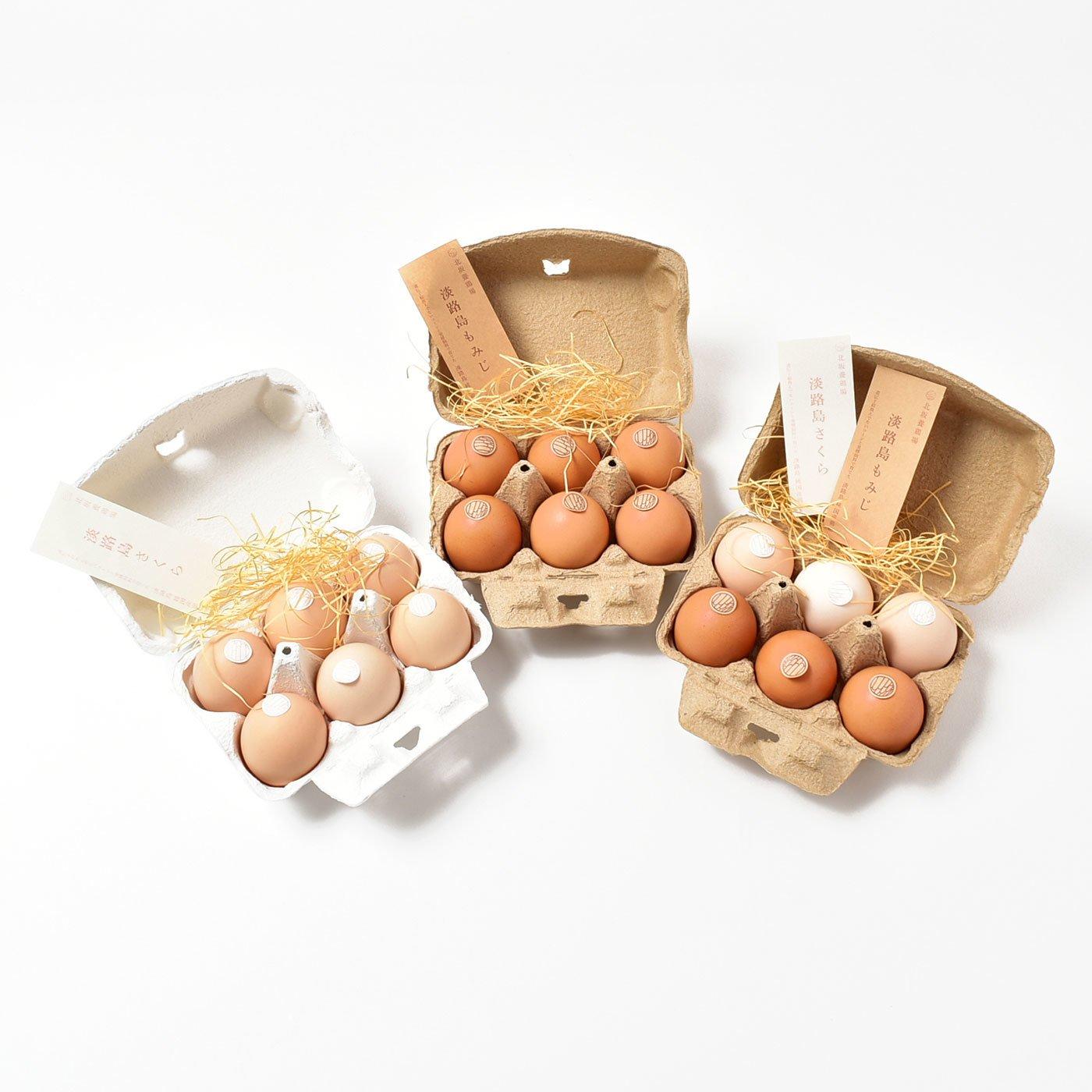 淡路島 北坂養鶏場の純国産鶏のたまご もみじたまごとさくらたまご