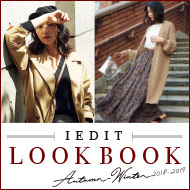 IEDIT AUTUMN&WINTER 2018-2019 LOOK BOOK