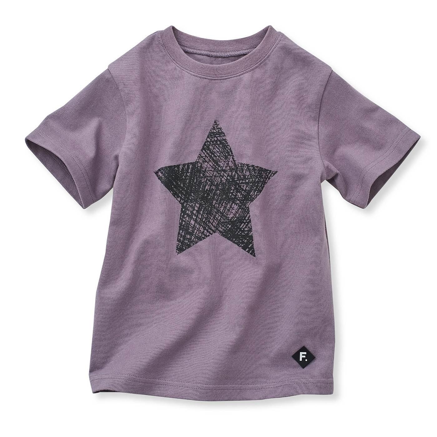 甘編みのバスク風 ゆるりシルエットTシャツ