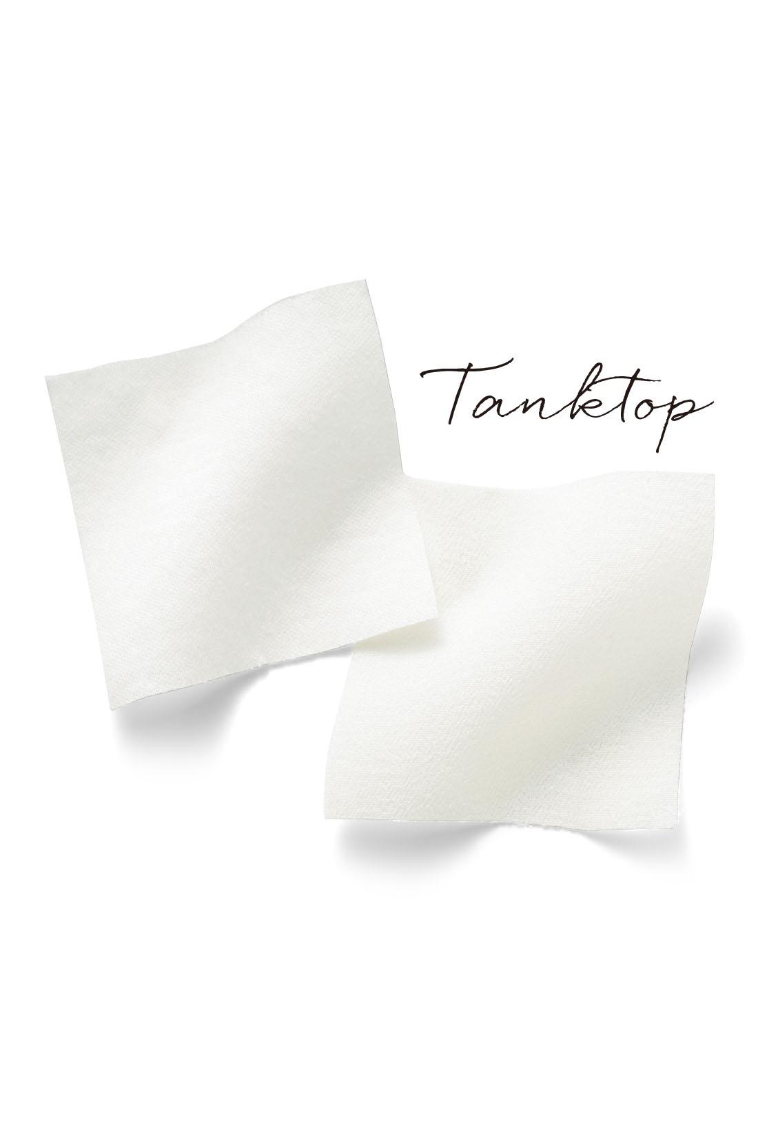 カットソー部分には、艶やかで肌あたりもソフトなシルケットコットン天じくを採用。すそは落ち感のきれいなデシンで切り替え華やかに。