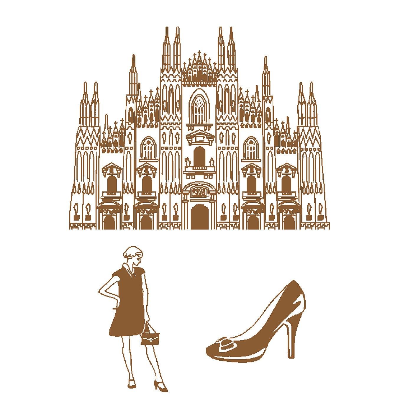〈イタリア/ミラノ大聖堂〉