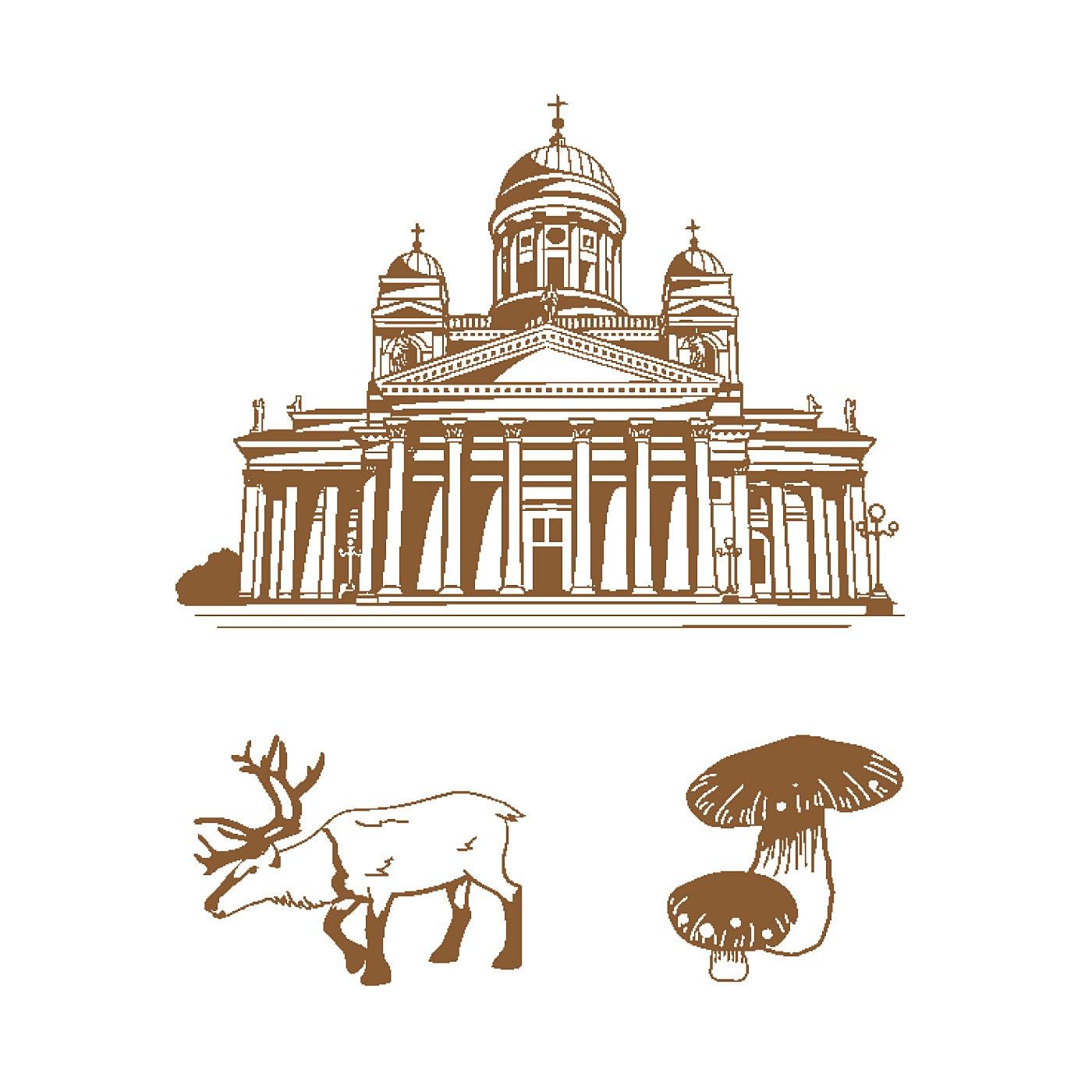 〈フィンランド/ヘルシンキ大聖堂〉