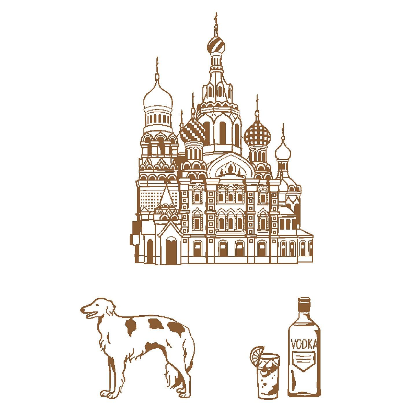 〈ロシア/ハリストス復活大聖堂〉