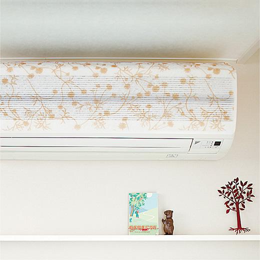 エアコン掃除は取り換えるだけのフィルターカバー。