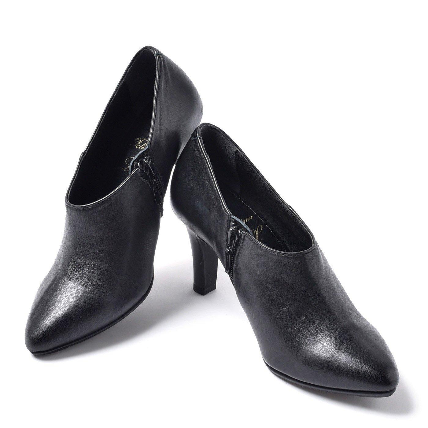 LX 3点サポートで美姿 毎日履きたくなる究極のブーティー〈ブラック〉