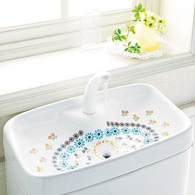 RoomClip商品情報 - 花咲く水辺のおもてなし 取り換えるだけお掃除 トイレの手洗いタンクシートの会 フェリシモ FELISSIMO