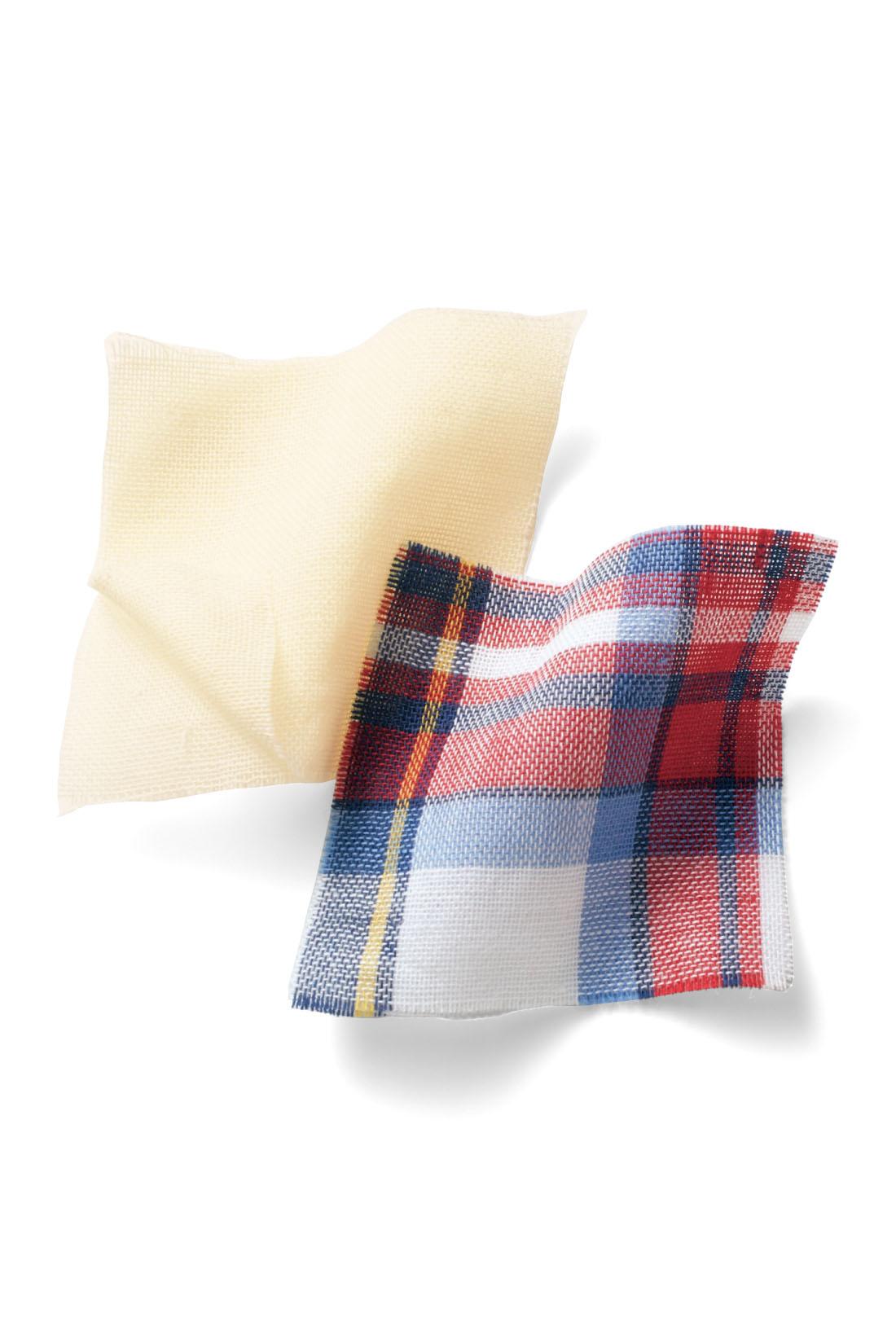 ガーゼ素材を二層に重ねた綿100% のダブルガーゼは、空気を含んだようなふっくらとした肌ざわりが特長。ノンアイロンでラフに着こなせるうえ、洗うほどに心地いい風合いに。 ※お届けするカラーとは異なります。