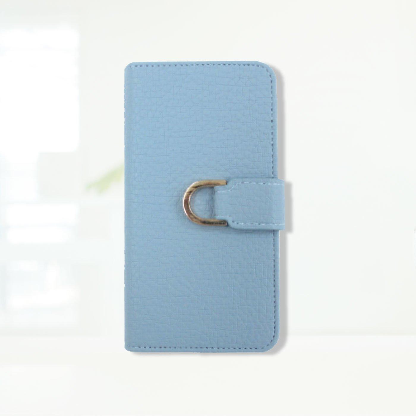 iphone6s/6/7/8 手帳型スマホカバー メタルD