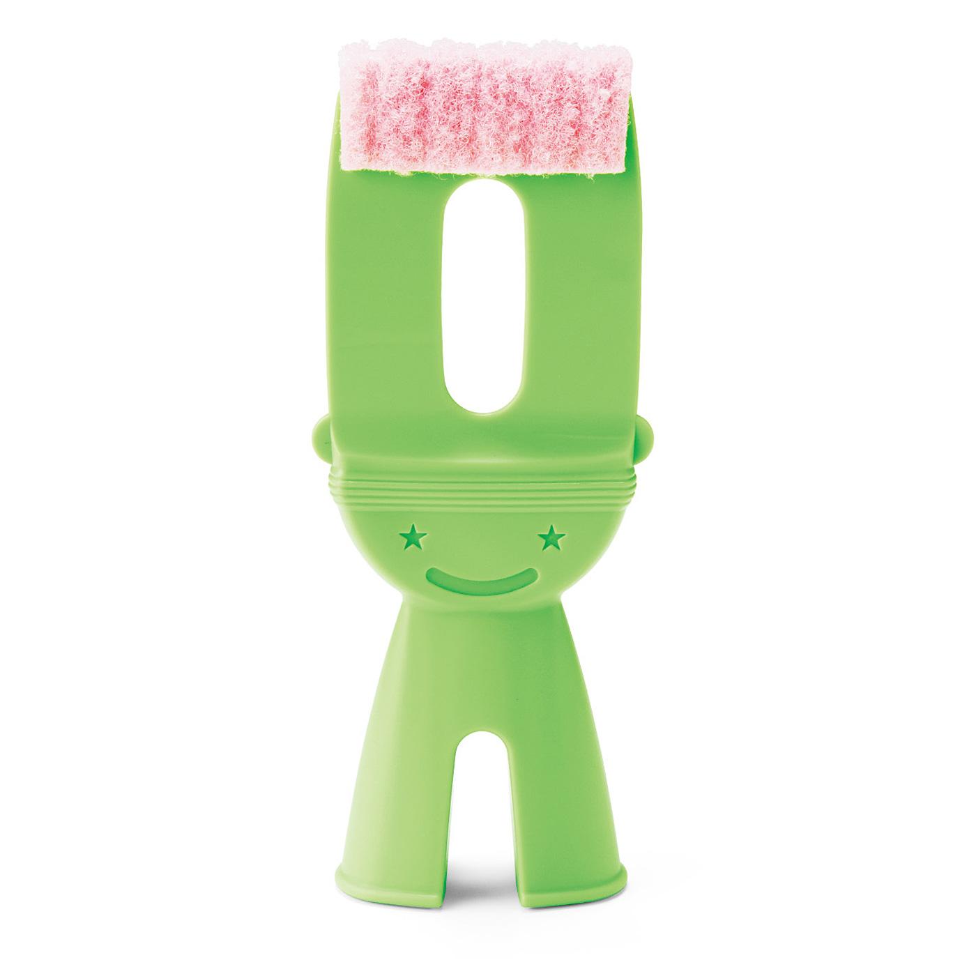 タイルの目地に現れるカビを洗剤を使わずに落とせる、専用スポンジ。