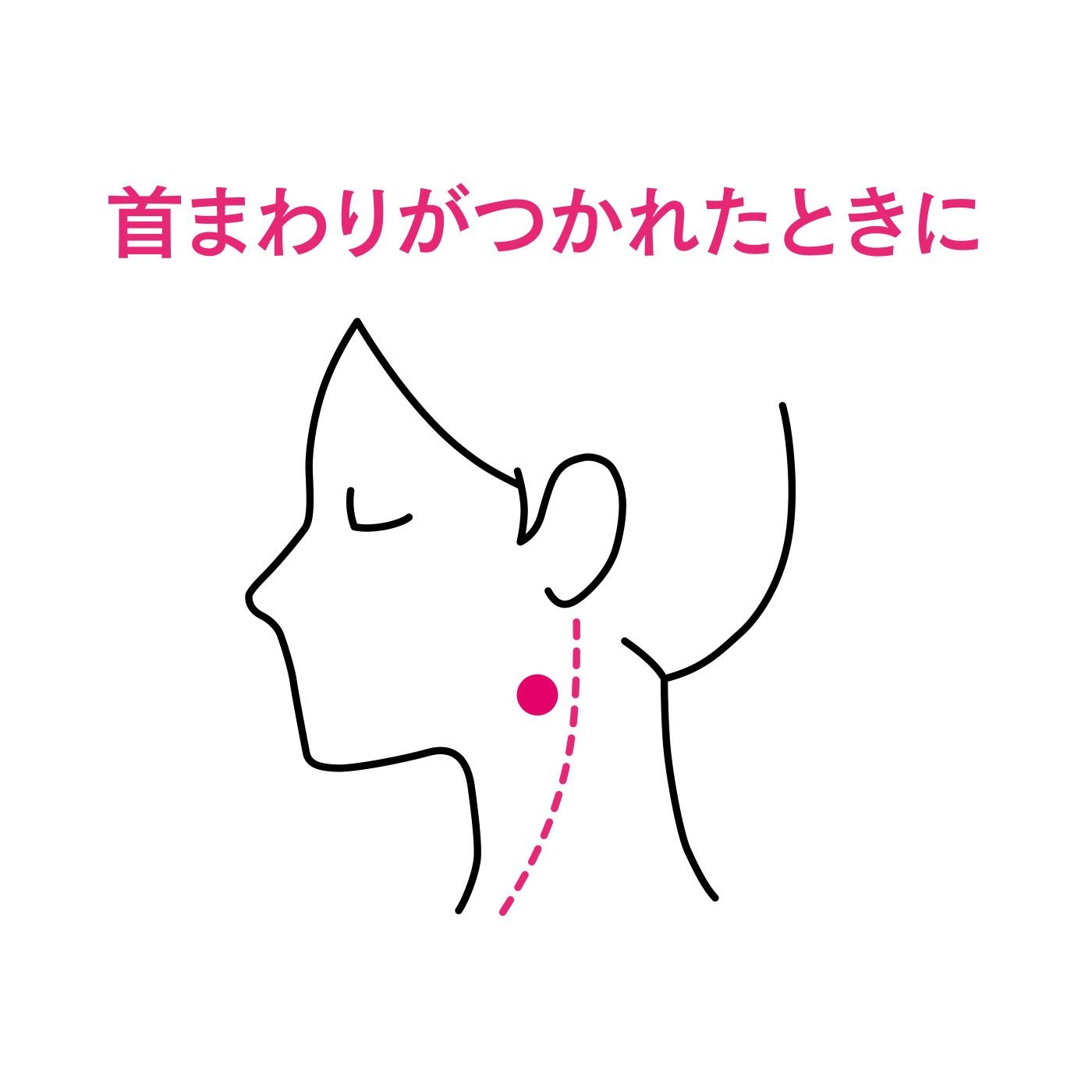 ■天容(てんよう)下あごの角の後ろ、首の筋肉の前側。
