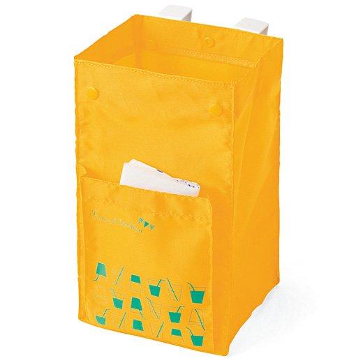 その場でポイッ レジ袋もストックできる シンク下ミニごみ箱の会