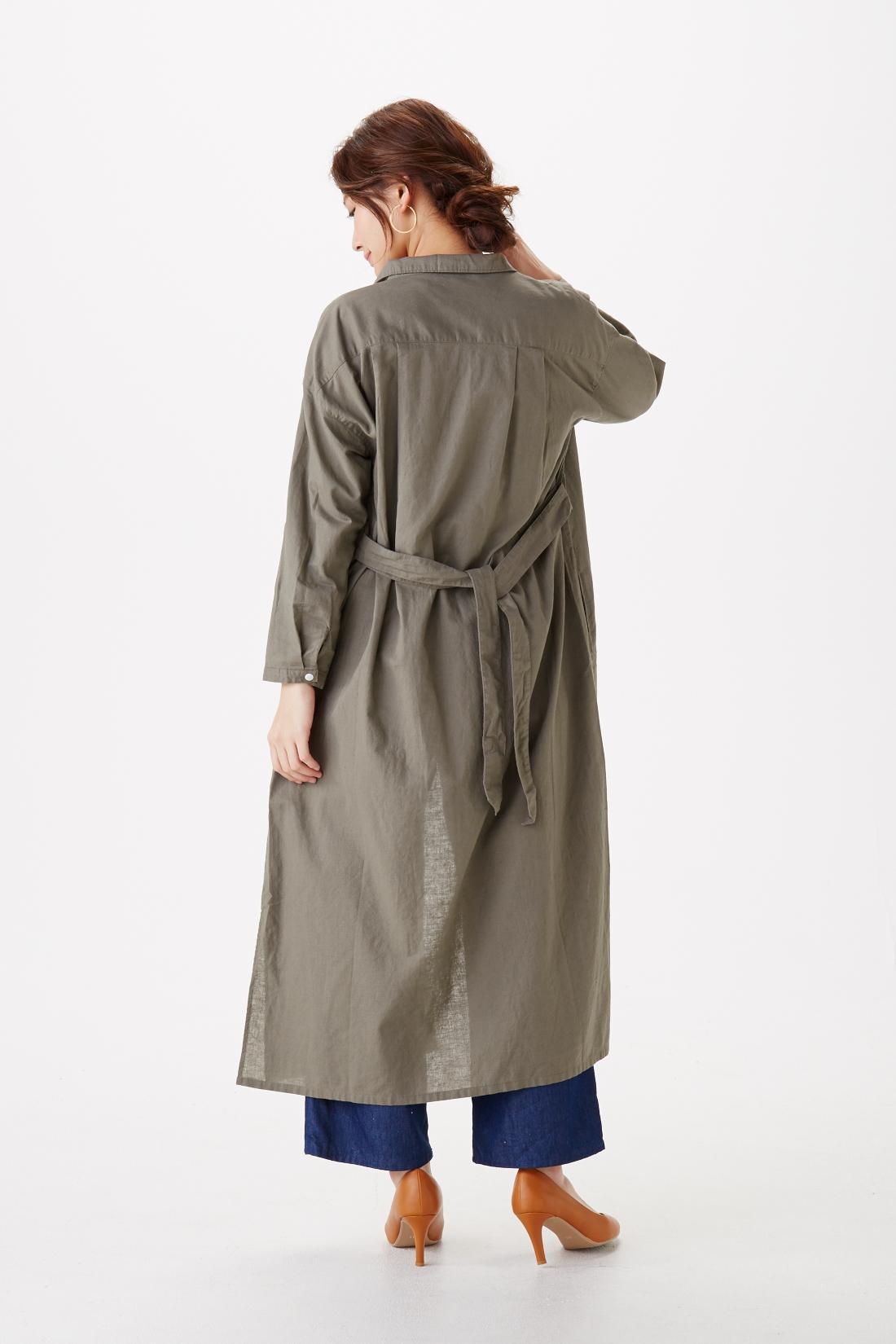はおりとしても。モデル身長:165cm 着用サイズ:M ※着用イメージです。お届けするカラーとは異なります。